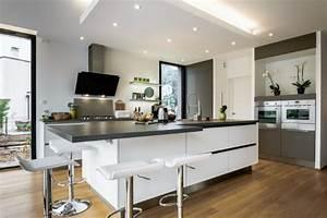 Cuisine Avec Parquet : et si l 39 on osait le parquet en cuisine le blog d 39 arthur bonnet ~ Melissatoandfro.com Idées de Décoration