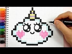 Facile Kawaii Disney Licorne Pixel Art