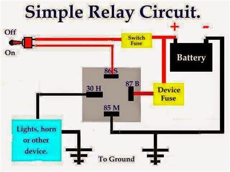 simple relay circuit eee community
