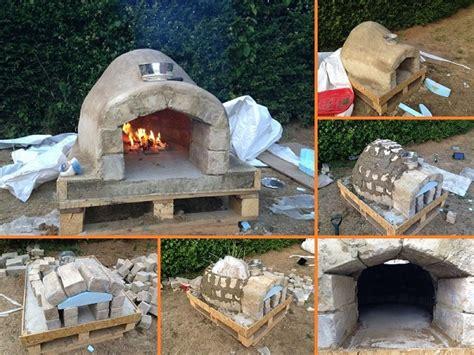 How To Make An Outdoor Pizza Oven  Home Design, Garden