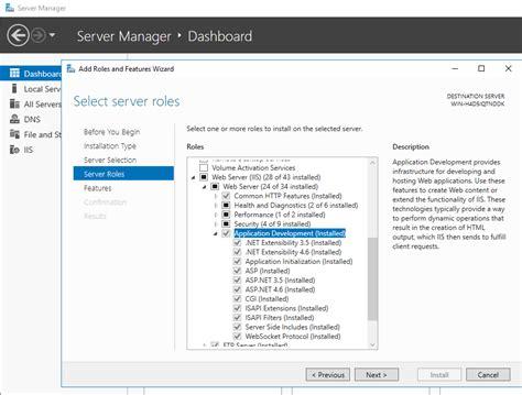 如何在plesk for windows server 2012和2016上启用asp net 3 5