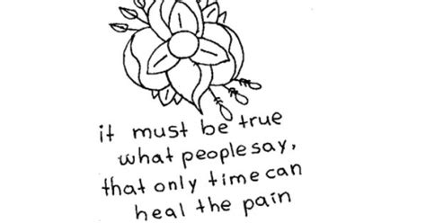 Only Time Can Heal The Pain Quotes