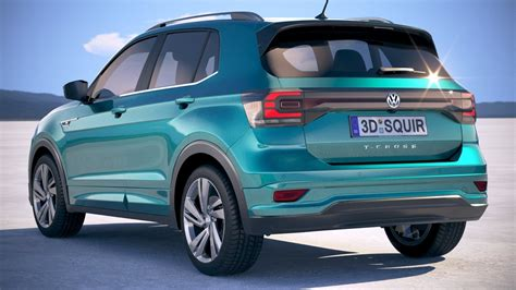 The long bonnet and wide radiator grille. Volkswagen T-Cross 2019