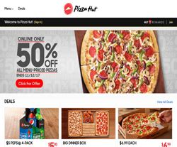save  verified pizza hut coupons promo codes