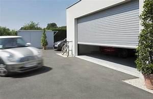 portes de garage enroulables de type monobloc pour With porte de garage enroulable et portes interieures renovation