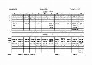 13 football depth chart template free sample example With football depth chart template excel