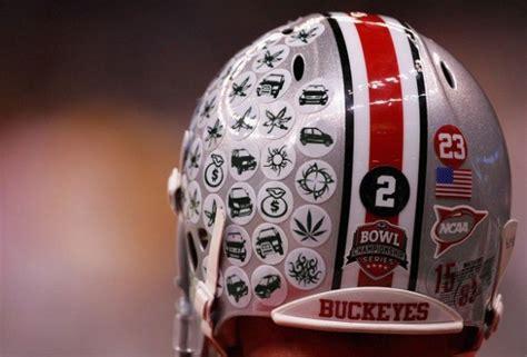 picture   day  buckeyes   helmet stickers
