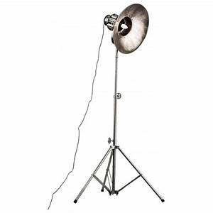 buy silver distressed floor standing spotlight from fusion With distressed silver floor lamp