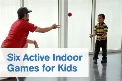 Six Active Indoor Games for Kids Playworks