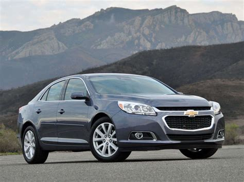 2014 Chevy Malibu Continues Resurgence With 5-star Safety