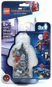 Lego, -, Spider-man, And, The, Museum, Break-in, Minifigures, 3, Pack, 40343, Building, Sets