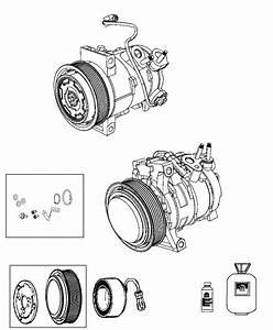 2014 Jeep Patriot Compressor  Air Conditioning