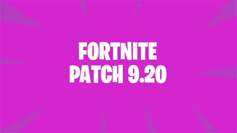 fortnite patch  downtime starts tomorrow