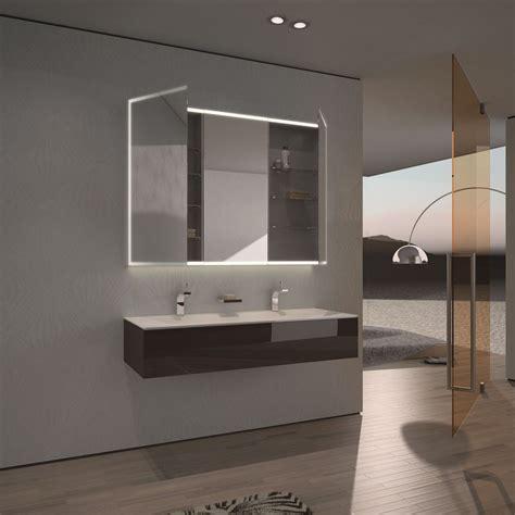 Badezimmer Spiegelschrank Auf Mass spiegelschrank nach ma 223 mit led credo r 228 ume badezimmer