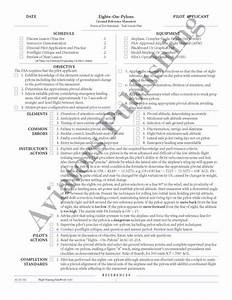 flight instructor lesson plans ask a flight instructor With cfi lesson plan template