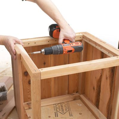 how to make a planter box how to build a planter that has character and style