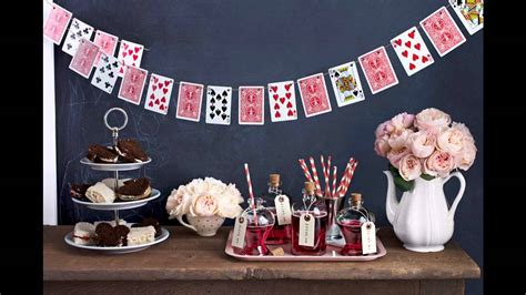 alice and wonderland table decorations easy diy ideas for creative alice in wonderland