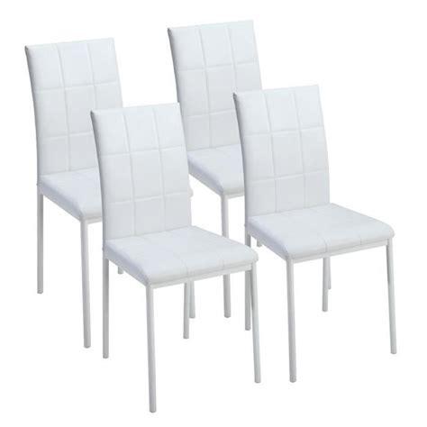 lot 4 chaises chaise salle a manger pas cher lot de 4 uteyo