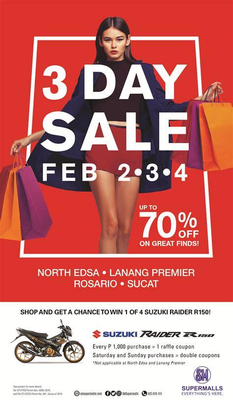 SM 3-Day Sale! | SM Supermalls