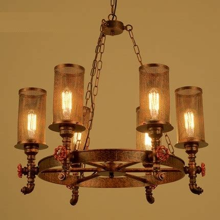 Vintage Dining Room Light Fixture by Loft Style Iron Water Pipe Pendant Light Fixtures Edison