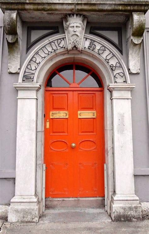 ideas  orange front doors  pinterest