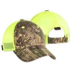 Outdoor Cap Camo Trucker Hat Neon