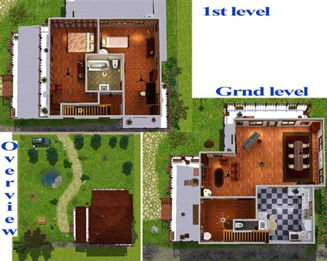 mod the sims maison choreau classical familly cottage