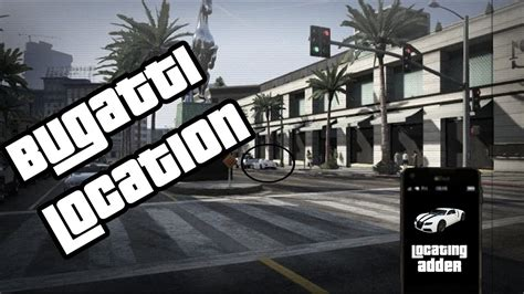 Buying and driving a bugatti in gta v! Bugatti Spawn Location{GTA 5 STORY MODE} - YouTube