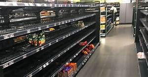 Shoppers, Shocked, By, Empty, Shelves, As, Supermarket, Removes, Foreign, Items, To, Make, A, Powerful