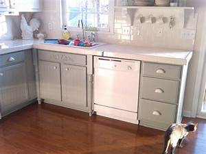 painting oak cabinets white and gray 1838