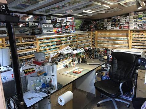 pin  michael brehm  hobbywork room hobby room