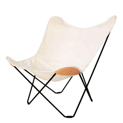 chaise butterfly canvas mariposa butterfly fauteuil de jardin cuero