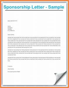Sample sponsorship letter sponsorship request letter for for Letter to request sponsorship for an event