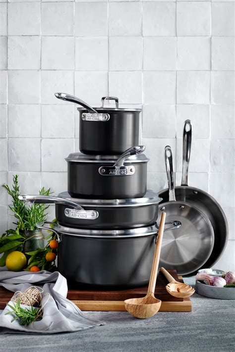cookware sets sonoma williams kitchen newlyweds piece graduates pots cooking pans epicurious clad ltd courtesy master scroll