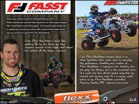 2015 fasst company flexx handlebars sponsorship