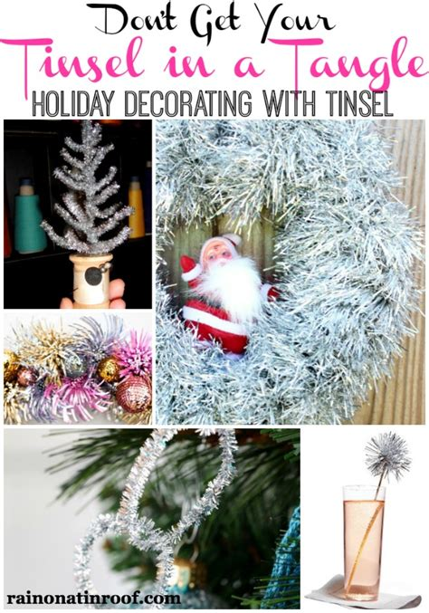 dont   tinsel   tangle ideas  decorating