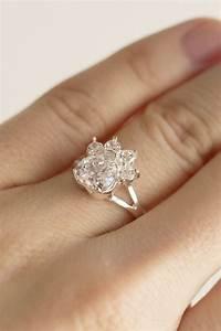 paw print birthstone sterling ring birth month artisan With dog wedding ring