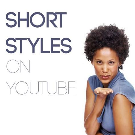 youtubers  awesome short natural hairstyle