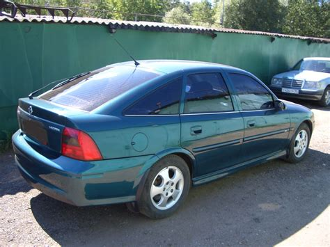 2000 Opel Vectra Pictures 1600cc Gasoline Ff Manual