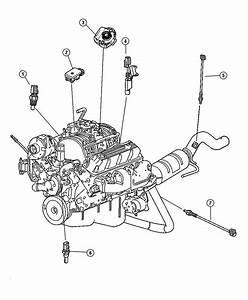 2000 Dodge Ram 1500 Sensors Engine   5 2 Engines