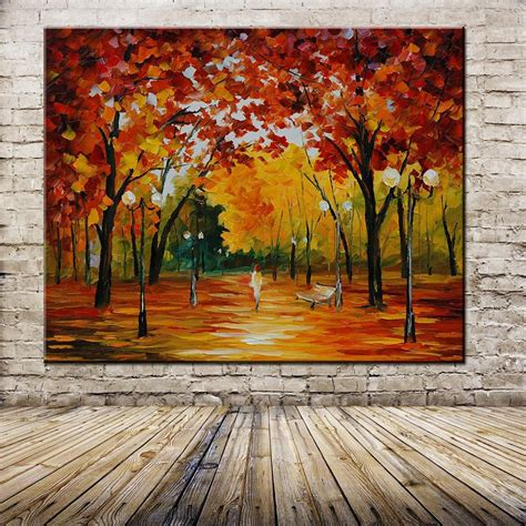painted abstract painting palette knife thick