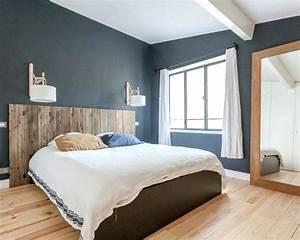 Chambre Bleu Nuit : chambre bleu nuit marine deco ~ Melissatoandfro.com Idées de Décoration