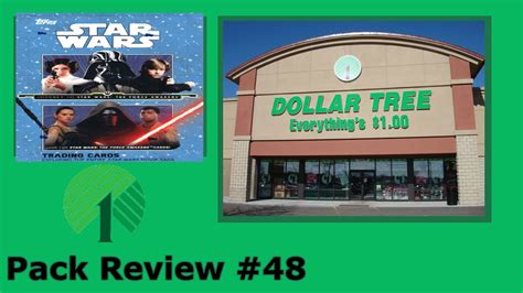 Pack Review #48 Dollar Tree 2015 Topps Star Wars Journey
