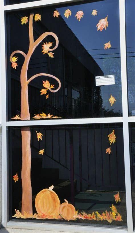Herbst Fenster Bemalen by Herbst Motive Glast 252 R Bemalen Ideen Kita Fenster Fall