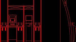 ATM Machine 2D DWG Block for AutoCAD • Designs CAD