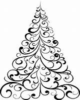 Coloring Christmas Tree Drawing Pages Printable Simple Outline Stencil Ornament Easy Template Clipartmag Colour Ornaments Printables Getcolorings Holly Sweeps4bloggers sketch template