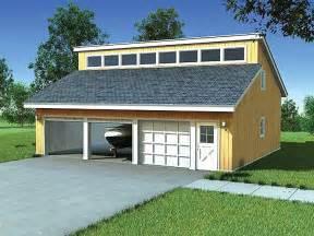 Garage Shop Plans with Loft
