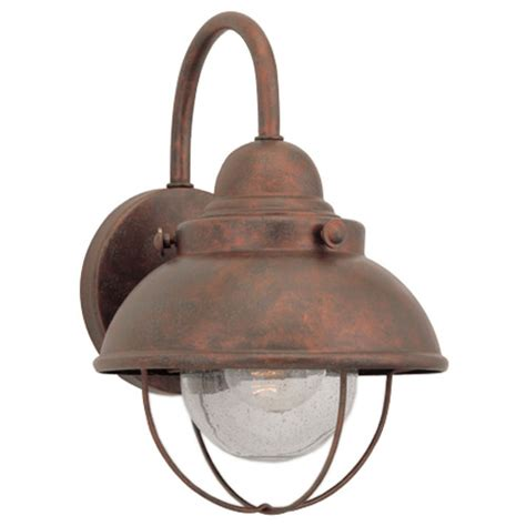 wall mounted copper outdoor lighting bellacor