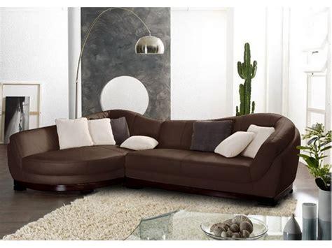 canapé avec coffre canapé angle et pouf cuir buffle ivoire chocolat ii