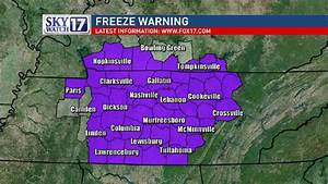 Freeze Warning issued as bitterly cold temperatures hit ...